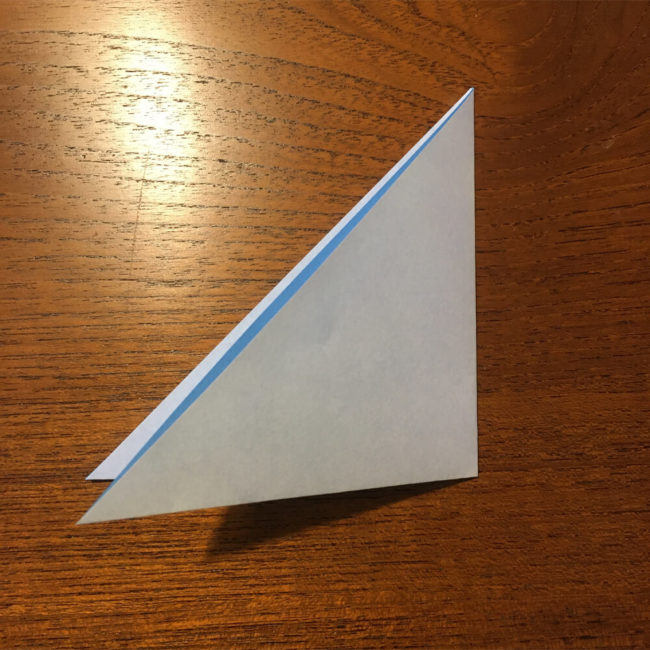 三角の折り紙